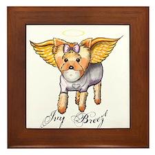 Angel Ivy Breeze clear Framed Tile