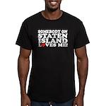 Staten Island Men's Fitted T-Shirt (dark)