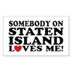 Staten Island Sticker (Rectangle)