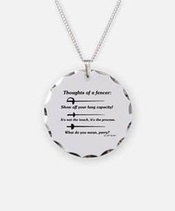 Fencer Thoughts Necklace
