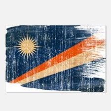 Marshall Islands Flag Postcards (Package of 8)