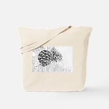 Pine Cone Tote Bag