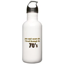 you can't scare me..70's Stainless Water Bottle 1.