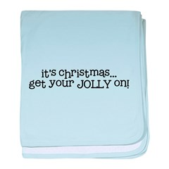 get your Jolly on baby blanket