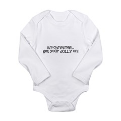 get your Jolly on Long Sleeve Infant Bodysuit