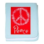 peace baby blanket