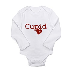 cupid Long Sleeve Infant Bodysuit