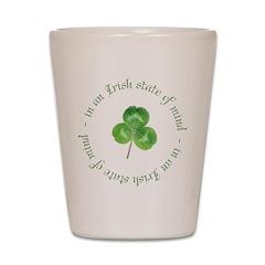 irish blessing Shot Glass