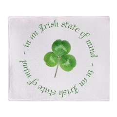 irish blessing Throw Blanket