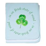 irish blessing baby blanket