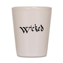 wicked Shot Glass