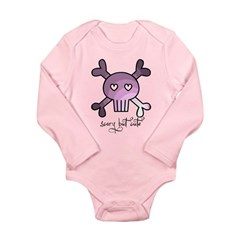 scary but cute Long Sleeve Infant Bodysuit