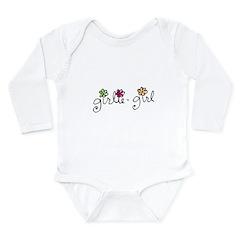 girlie-girl Long Sleeve Infant Bodysuit
