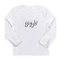 giggle Long Sleeve Infant T-Shirt