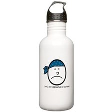 i don't wanna be a pirate Stainless Water Bottle 1