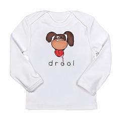 drool Long Sleeve Infant T-Shirt
