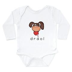 drool Long Sleeve Infant Bodysuit