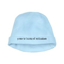 prone to enthusiasm baby hat