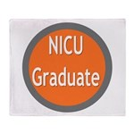 NICU grad Throw Blanket
