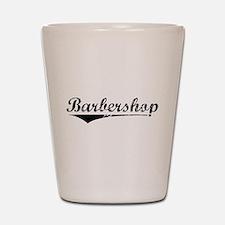 barbershop Shot Glass