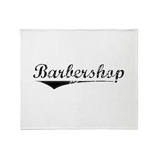 barbershop Throw Blanket