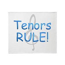 tenors rule-.png Throw Blanket