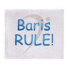 3-baris rule.png Throw Blanket