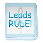 leads rule.png baby blanket