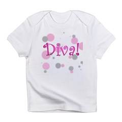 4-3-diva transparent.png Infant T-Shirt