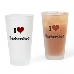 iheart barbershop.png Drinking Glass