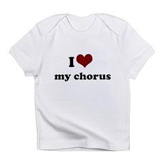 heart my chorus.png Infant T-Shirt