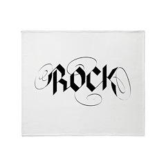 rocking glow.png Throw Blanket