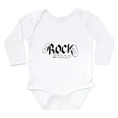 rock star.png Long Sleeve Infant Bodysuit