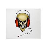 devils music-2glow.png Throw Blanket