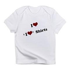 i heart heart.png Infant T-Shirt
