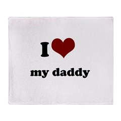 i heart my mommy.png Throw Blanket