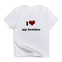 i heart my sister.png Infant T-Shirt