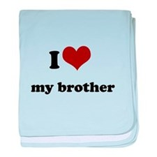 i heart my sister.png baby blanket