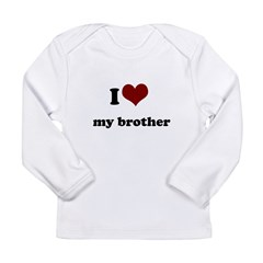 i heart my sister.png Long Sleeve Infant T-Shirt