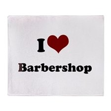 iheart barbershop.png Throw Blanket