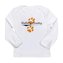 flip-dog.png Long Sleeve Infant T-Shirt