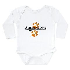 flip-dog.png Long Sleeve Infant Bodysuit