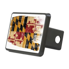 Maryland Flag Hitch Cover