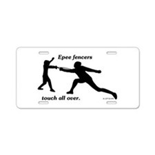 Epee Touch Aluminum License Plate