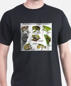 Tree Frogs of North America T-Shirt