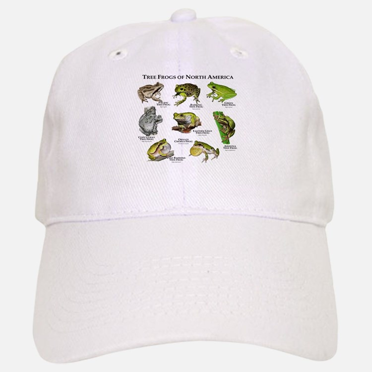 Tree Frogs of North America Baseball Baseball Cap