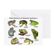 Tree Frogs of North America Greeting Card