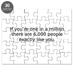 one in a million Puzzle
