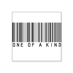 One of a Kind Square Sticker 3