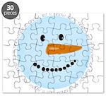 Blue Snowman Puzzle